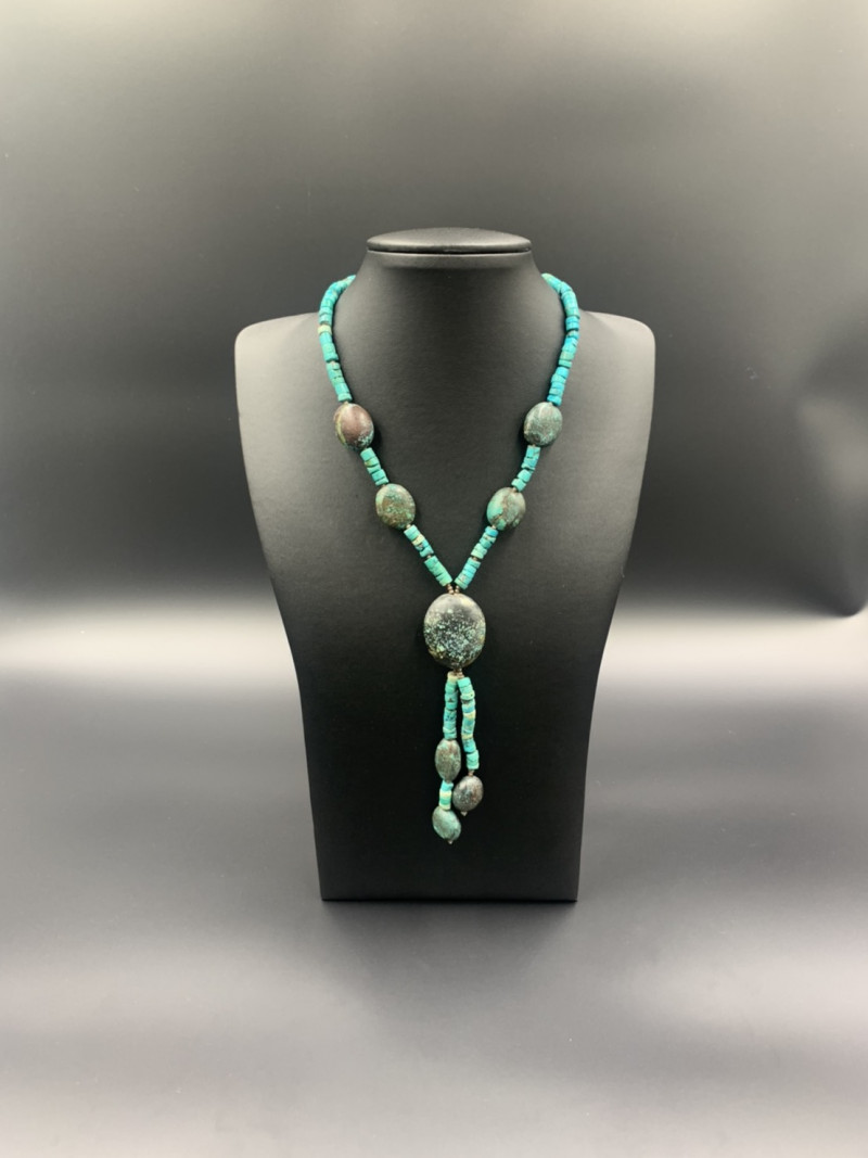 Beautiful Traditional Natural Turquoise Necklace. Tr-582