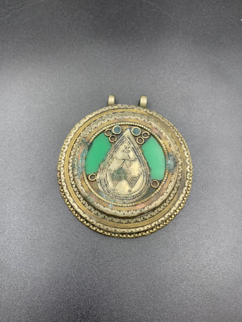 Beautiful Afghani Handmade Traditional Pendant. Pn-58