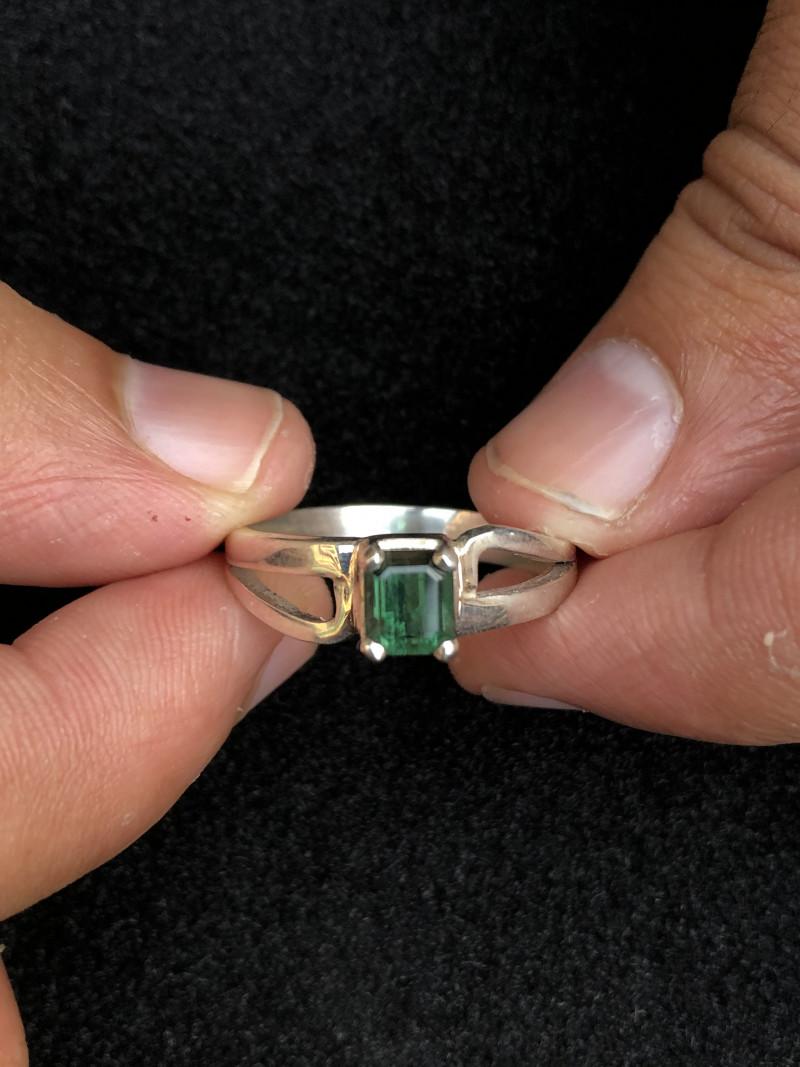 21 Cts Natural Tourmaline Ring
