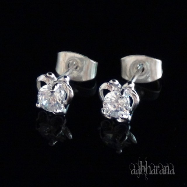 925 Sterling Silver Studs Earrings