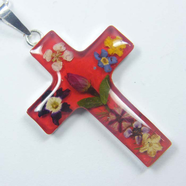 PRETTY MINATURE FLOWER SILVER PENDANT  GTJA 158