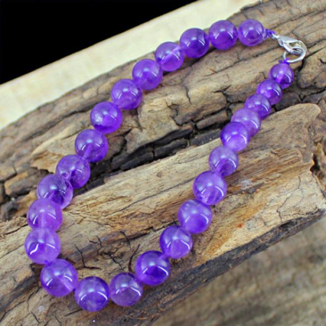 Top Amazing 201.00 Cts Purple Amethyst Bracelet