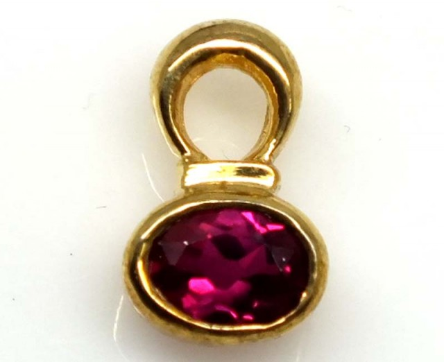 SPINEL SILVER PENDANT 6.45 CTS SJ-65