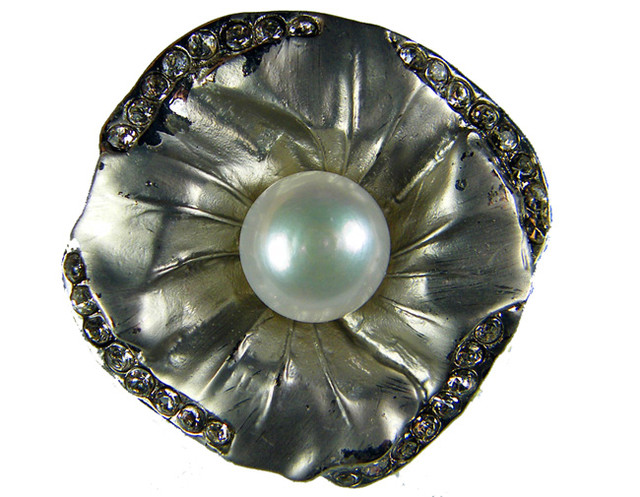 DESIGNED FRESHWATER PEARL PIN  65 CTS[SX03]
