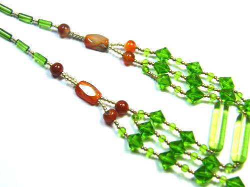 BEAUTIFUL GEMSTONE NECKLACE 240 CTS TR426