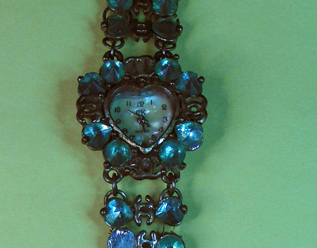ANTIQUE STYLE LADIES  WATCH BRACELET 11616
