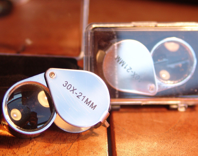 View what you buy.... Jewelers Loupes