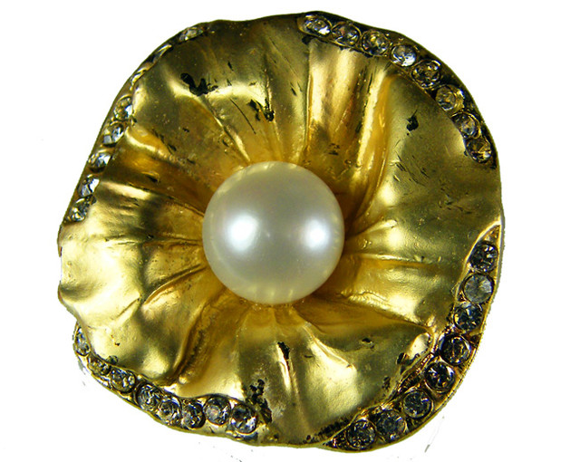 DESIGNED FRESHWATER PEARL PIN 79.7 CTS[SX04]