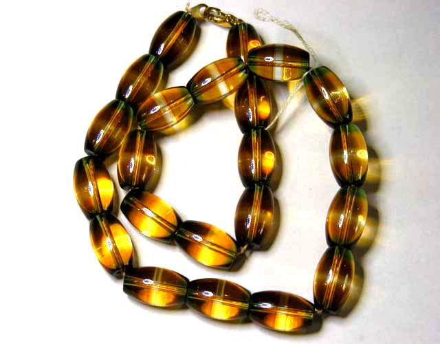 440 CTS NECKLACE GOLDEN HUES  11  148