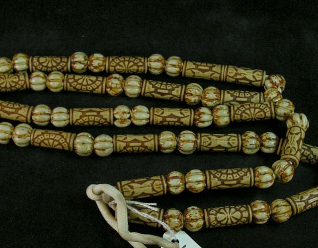 350 CTS AFRICAN WITHCRAFT  NECKLACE 11 631