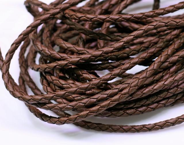 parcel 11 brown leather necklaces Bu 2490