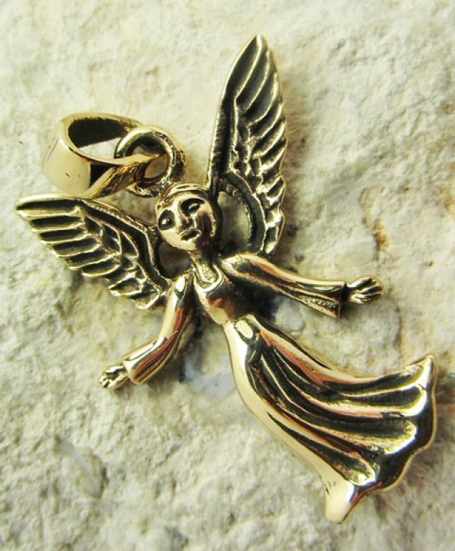 ANGEL BRONZE PENDANT QT 669
