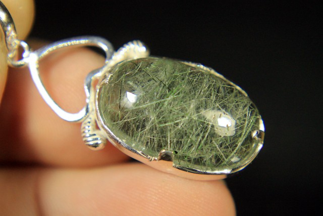 Beautiful Hand Made Silver Pendant