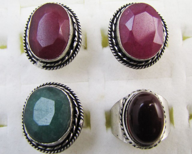 Antique Style Parcel deal Gemstone  Rings MJA 1201