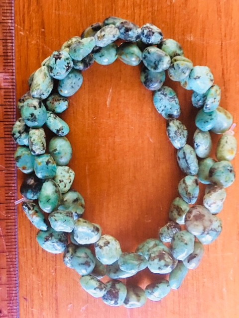 three Natural turquoise Bracelets PPP 1733