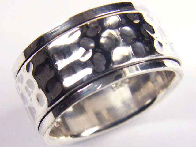 POPULAR STYLISH SILVER RING SIZE 9 GTT 1695