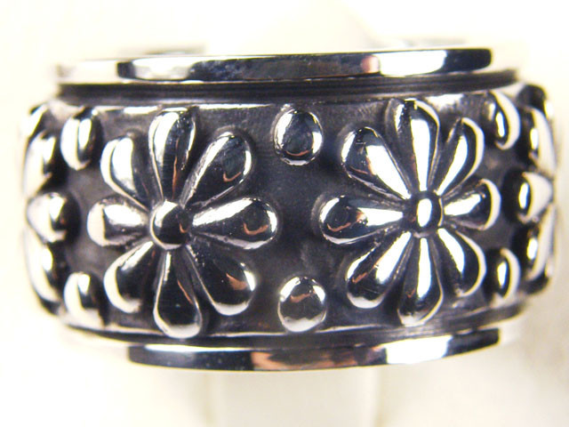 POPULAR STYLISH SILVER RING SIZE 9 GTT 1696