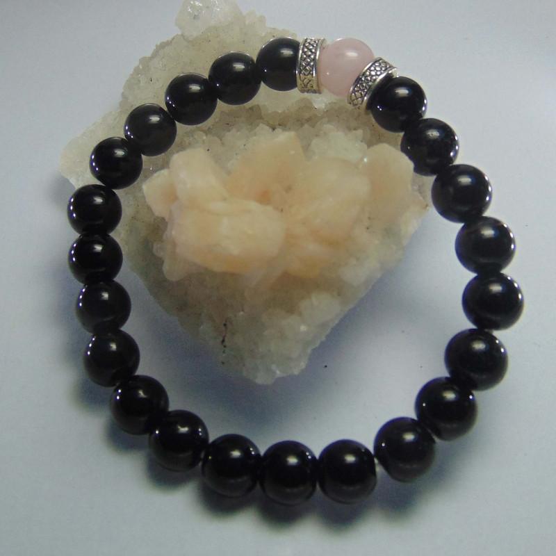 beautiful  Black Onyx  Bracelets 8mm