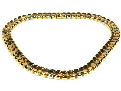 Italian Gold Chain >> 56 Grams 18k Italian Gold Chain 42 Cm Long L390