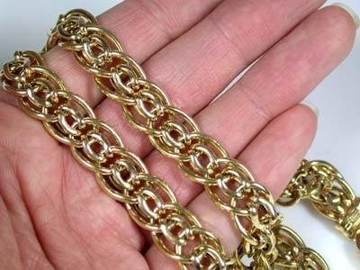 Italian Gold Chain >> 36 Grams Make N Offer 18k Italian Gold Chain 42