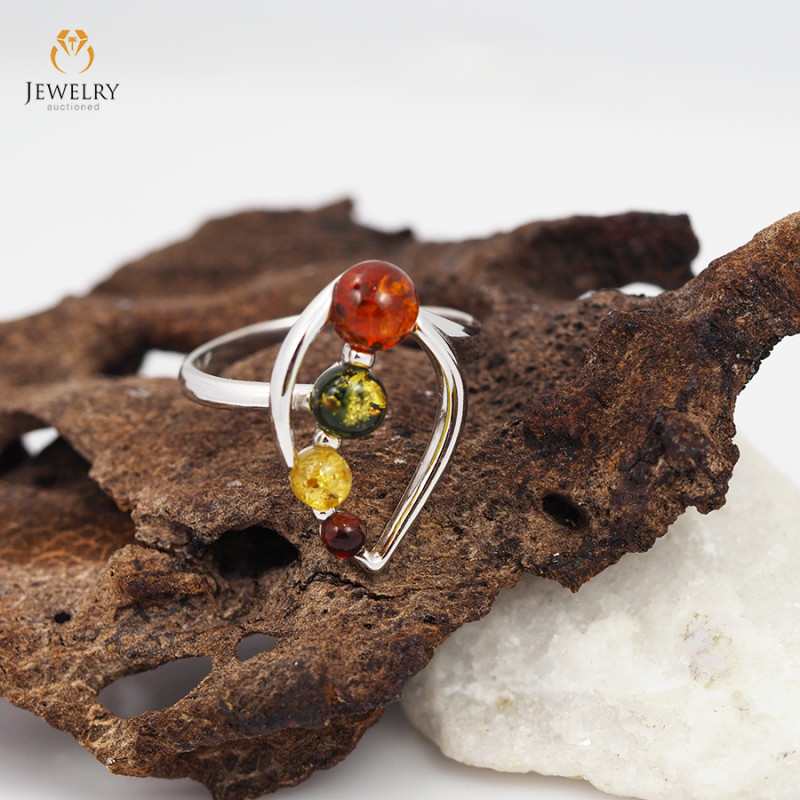 Baltic Amber Ring size 9 Sale, direct from Poland  AM 831