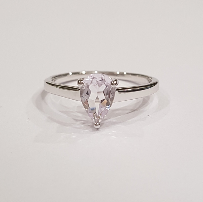 Amethyst 925 Sterling silver ring #459