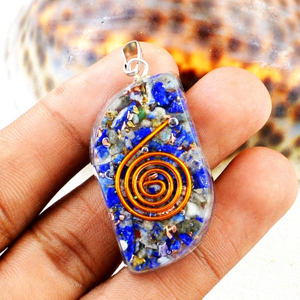 Lapis Lazuli Orgone Pendant