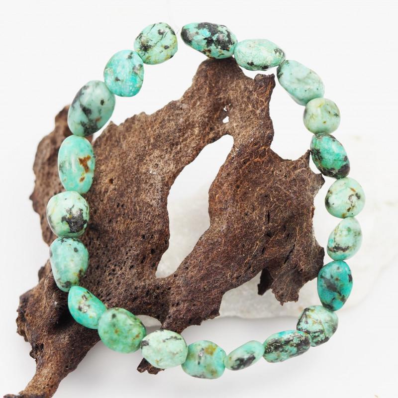 Natural Tribal turquoise Bead Bracelet  AM 711