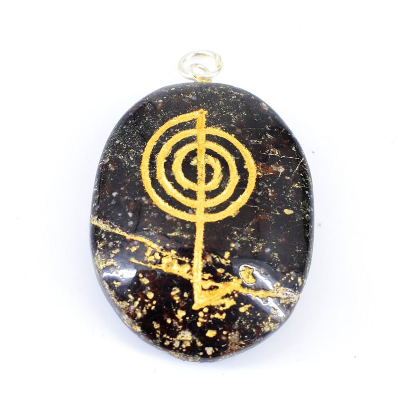 Jasper Chakra Pendant