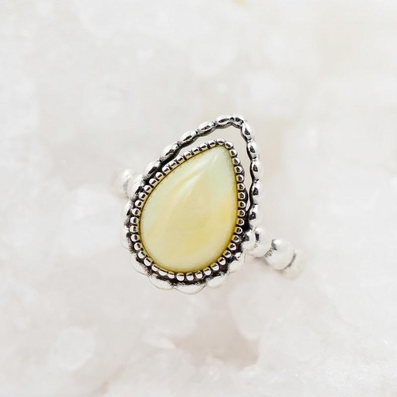 Baltic Amber Sale,Silver Ring  , direct from Poland  AM 880