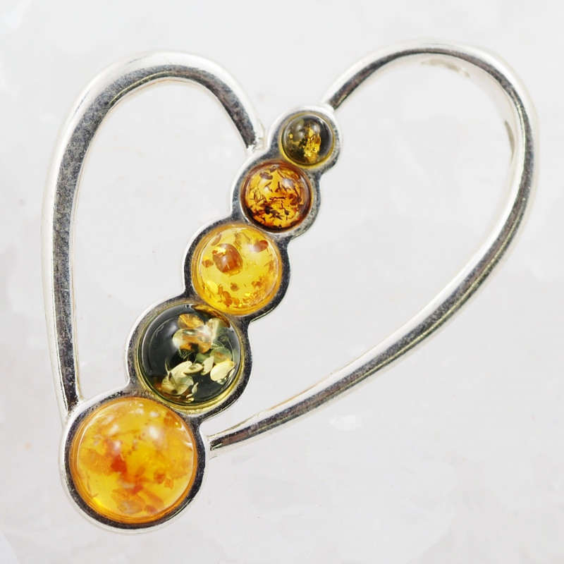 Baltic Amber Sale, Silver Pendant  , direct from Poland  AM 898