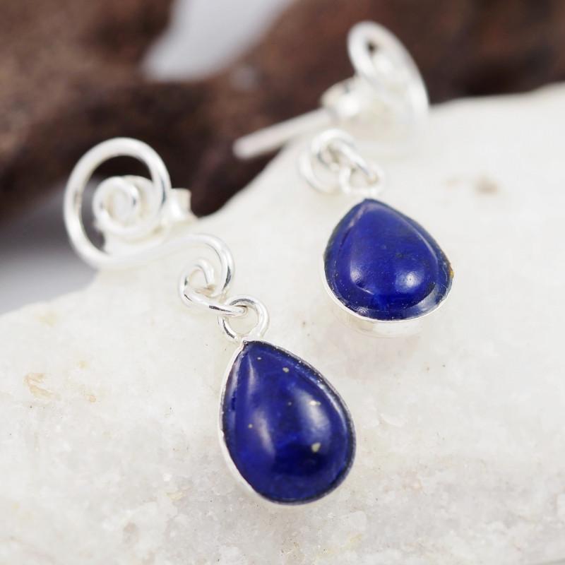 Swing design lapis Lazuli   Earrings AMB 908