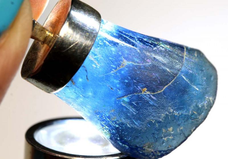 39 CTS ANCIENT ROMAN GLASS PENDANTS  SG-2918