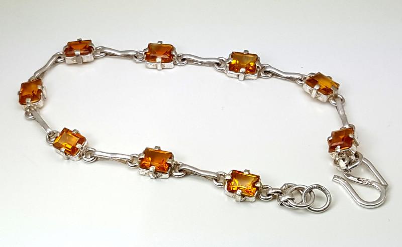 35.30 Carats Natural Citrine Bracelet