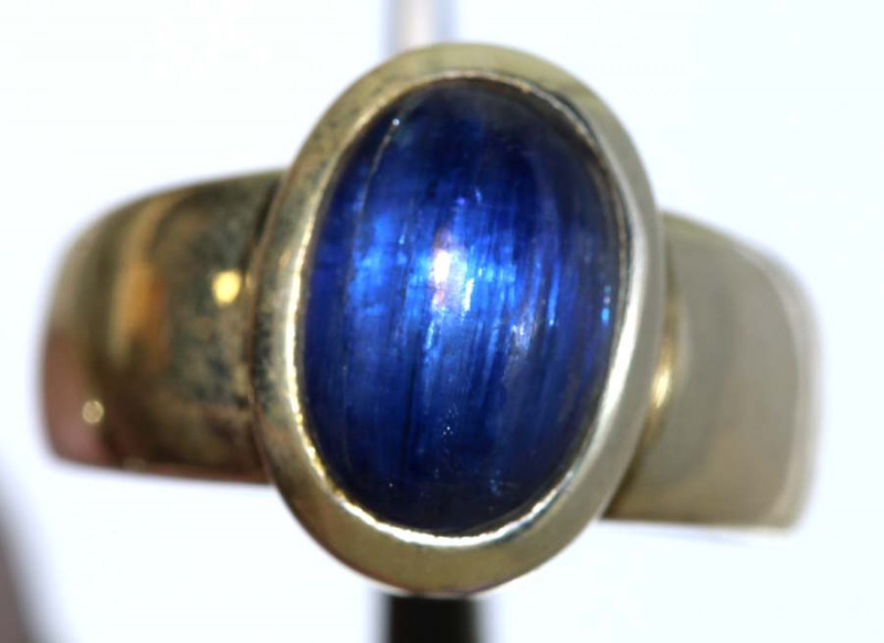 34.70 CTS KYANITE RING -SILVER SG-2925