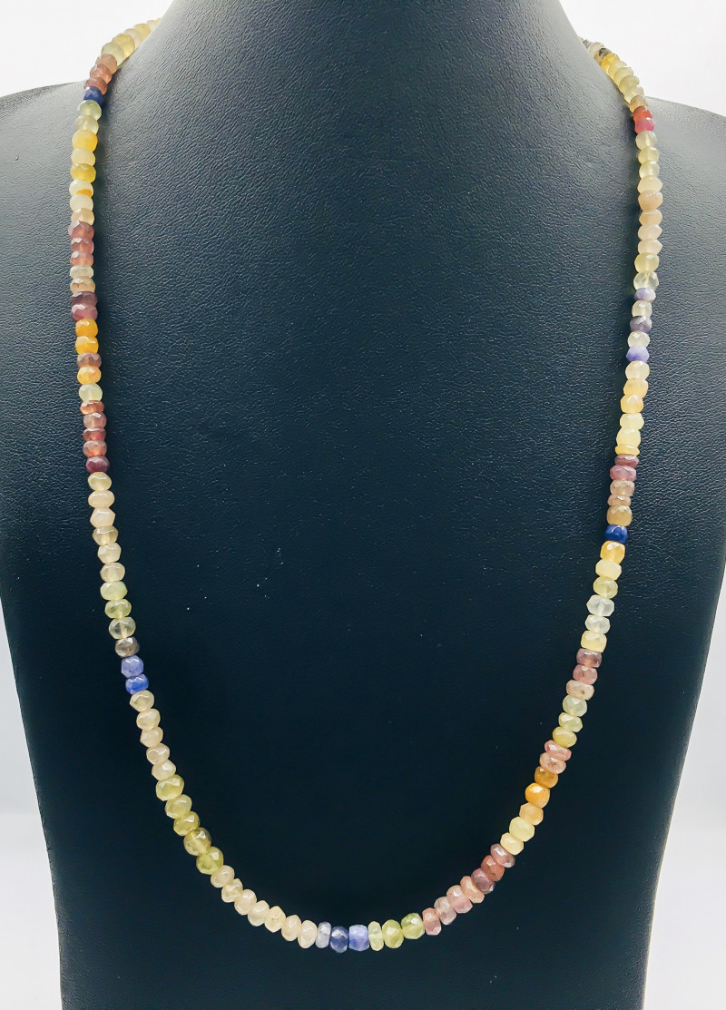 98.75 Crt Natural Multi Stones Necklace