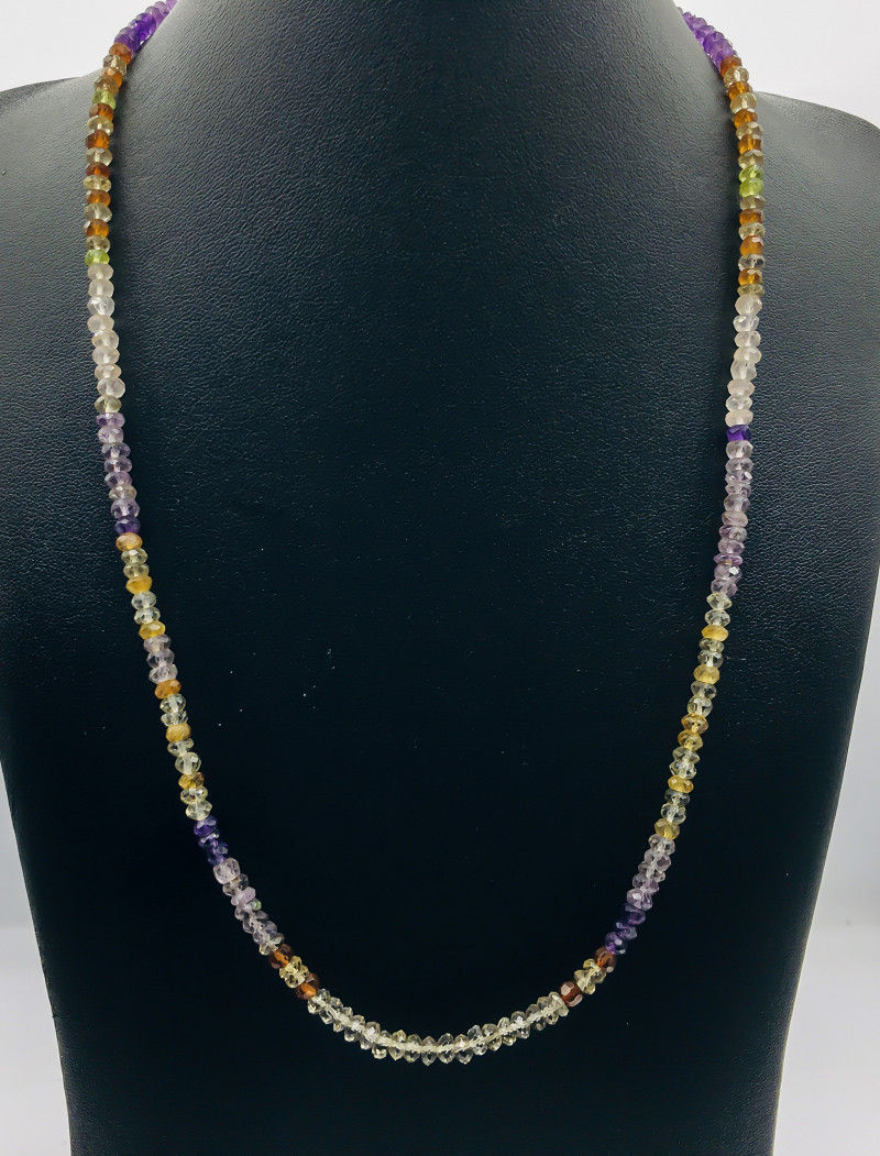 82.30 Crt Natural Multistone Necklace
