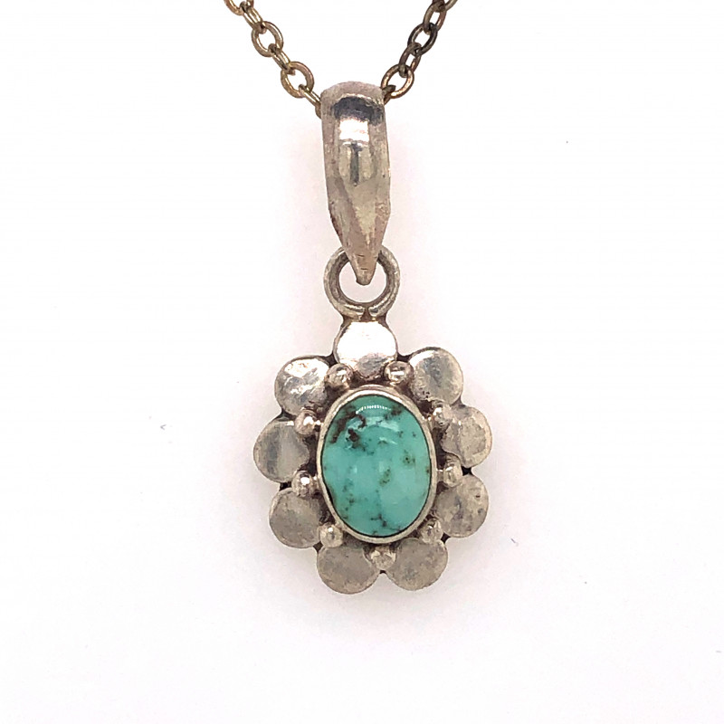 Beautiful l  Turquoise Tribal  Sterling Silver Design  BR 339