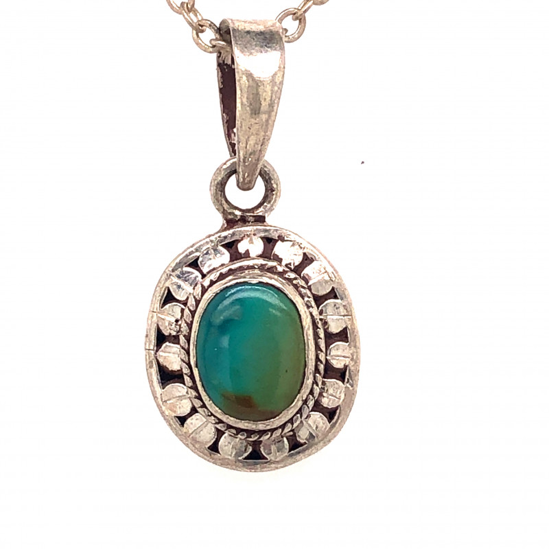 Beautiful l  Turquoise Tribal  Sterling Silver Design  BR 344