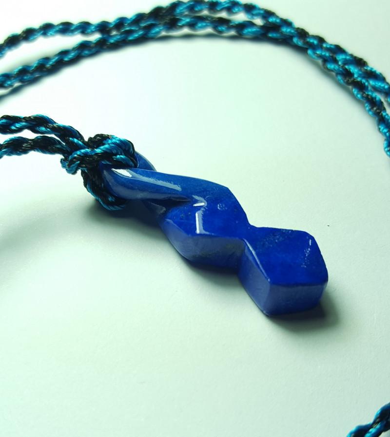 16.2 cts Beautiful Natural Lapis Lazuli Pendant.