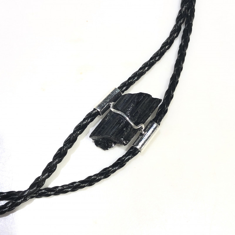 Raw Black Tourmaline Bracelet BR 2006