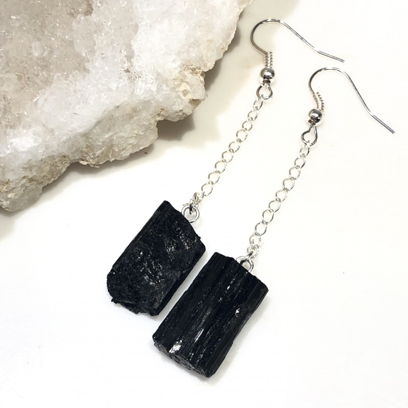 Spiritual black Tourmaline 4 pc  Jewelry Set  BR 2023