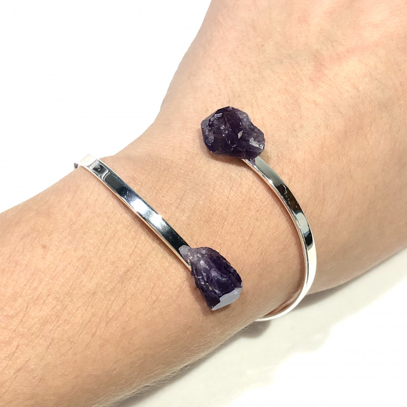 Amethyst lovers   4 Piece Jewelry  Set Br 2067