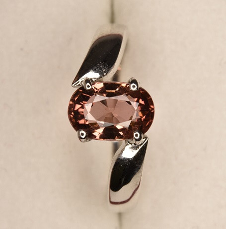 Top Tourmaline Ring with Silver 925