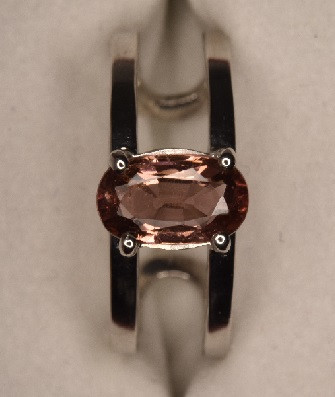 Tourmaline Ring 13.1 Carats with Silver 925