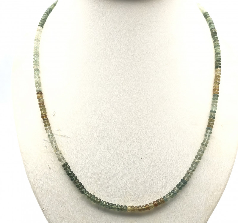 93 Crt Natural Garnet Necklace