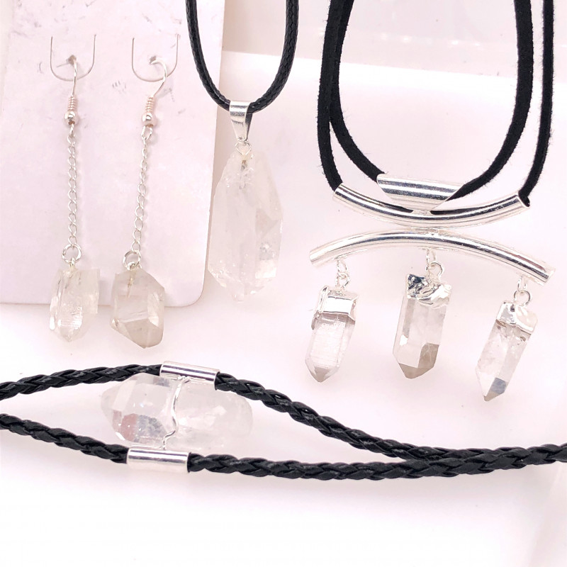 Crystal Lovers Four Piece Jewelry Set - BR 998