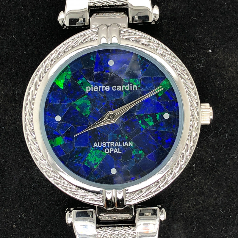 Original Ladies Silver Opal Watch Mosiac Opal  - WO 12