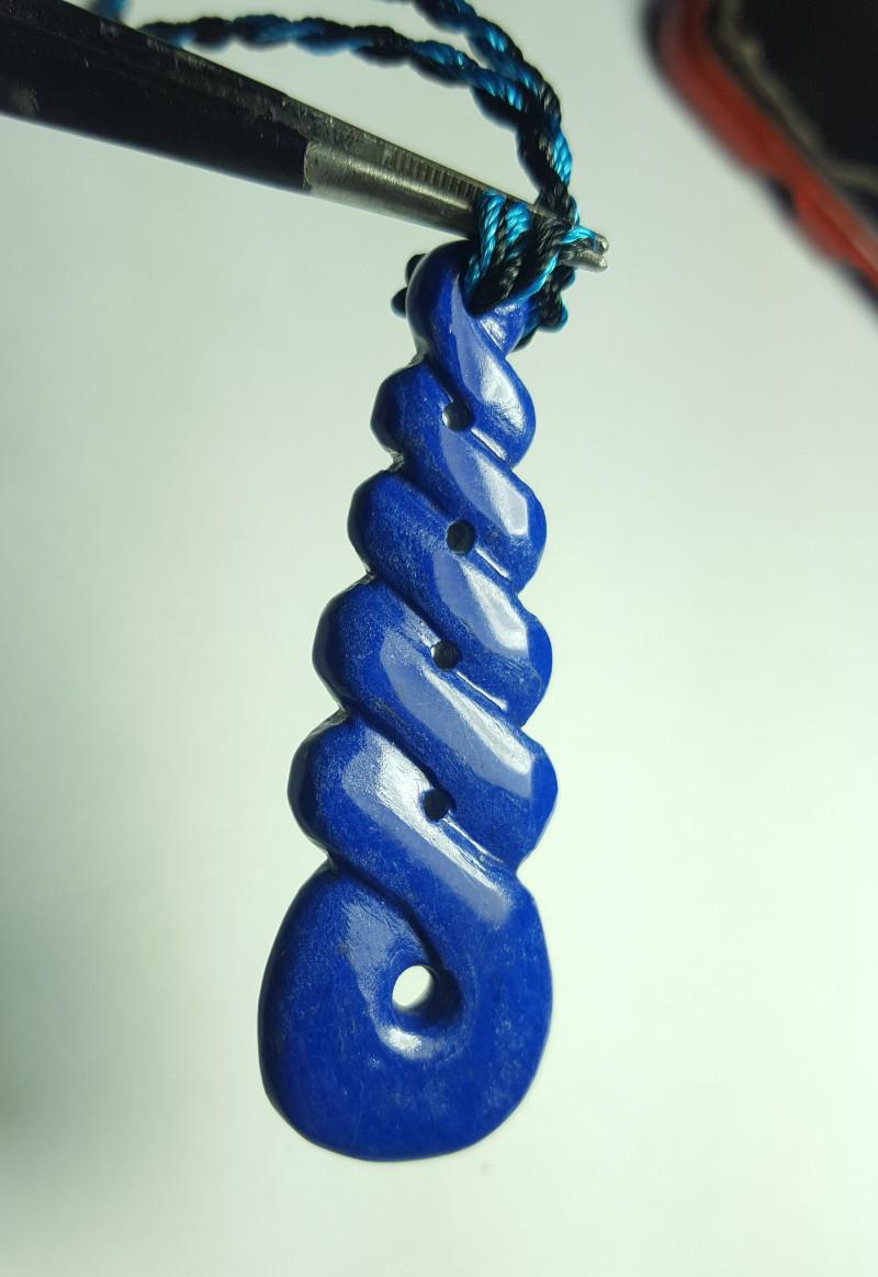 43.8 cts Beautiful Natural Lapis Lazuli Pendant.