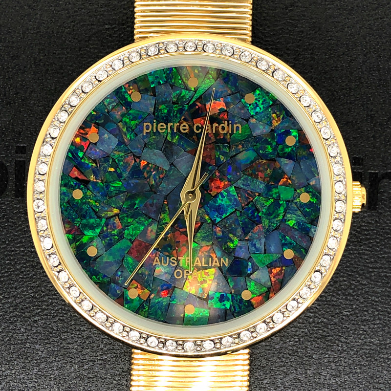 Original Ladies Golden Opal Watch Mosaic Opal - WO 49